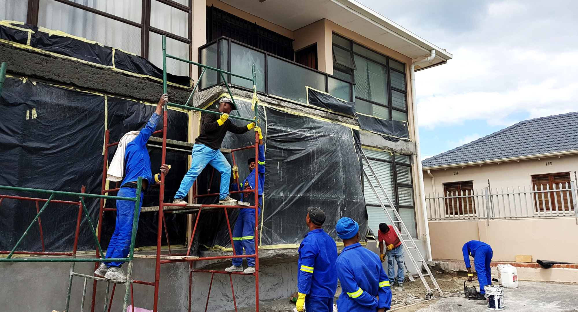 Damping, water proofing services cape town, justdamp
